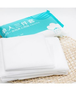 Travel Disposable Sheets Quilt Cover Pillowcase (Ready Stock)